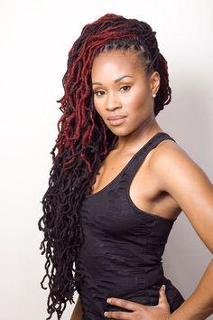 locs. I want this color!