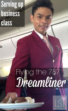 Business class service aboard Royal Brunei Airlines' Boeing 787 Dreamliner