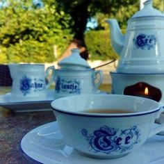 Ostfriesen-Tee in Carolinensiel