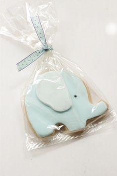 baby elephant cookies... too cute