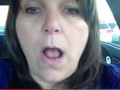 Una mujer se grabó mientras sufría un accidente cerebrovascular #Video