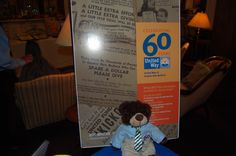 Graham at our 60th Anniversary Reception!!!