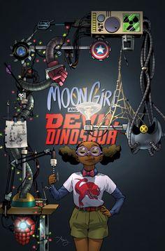 Moon Girl and Devil Dinosaur (2015) Issue #13