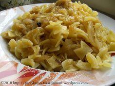 Káposztás tészta – Cabbage noodles in Hungarian – Fishsea Food Shrimp Recipes, Pasta Recipes, Vegan Recipes, Cooking Recipes, Cabbage And Noodles, Healthy Freezer Meals, Hungarian Recipes, Hungarian Food, Clean Eating Recipes