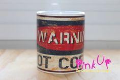 Caneca da série Vintage: Hot Coffee