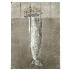 The White Whale Wall Art