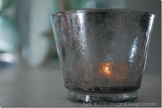 DIY mercury Glass.... using vinegar water and KRYLON looking Glass spray paint. This is THE TUTORIAL~!!