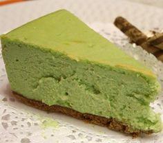 Matcha Cheesecake. Trying this!