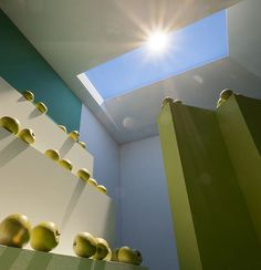 CoeLux, An Artificial LED Skylight That Uses Nanotechnology to Convincingly Emulate Natural Sunlight