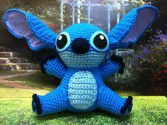 Finished Amigurumi crochet DISNEY STITCH by MyBlove on Etsy, $46.00