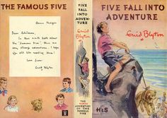 Five Fall Into Adventure by Enid Blyton Famous Five Books, Enid Blyton Books, Book Challenge, Minis, Book Writer, Book And Magazine, Children's Book Illustration, Book Making, Mini Books