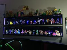 amiibo display boxes 20 now with led lighting
