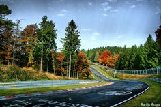 Nurburgring. Germany's public race track... On the bucket list! Do they rent Porsches at the Frankfurt airport?