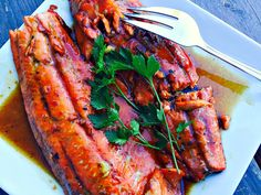 21 Day Fix Honey Glazed Salmon