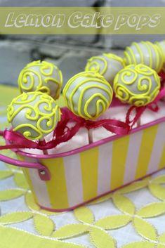 Lemon Cake Pops recipe