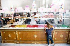 """""""Like a kid in a candy store."""" Bottega Louie is the stuff of dreams."""