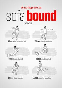 Sofa Bound #Workout #sofaworkout #fitness #lifestyle #exercise #healthcare #quickworkout #homeworkout