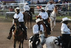 Boley's Memorial Day Rodeo, 2013. See much more about Oklahoma's all-black towns at www.struggleandhope.com