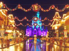 Christmas at Disney..It was absolutely breathtaking!! Thank you Santa for a great trip ;)