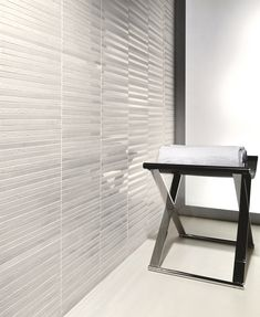 White tiles are plain but can still look fantastic in the right setting White Tiles, Colour Pattern, Pattern Design, Blinds, White Bricks, Marmi, Shabby Chic, Desk, Curtains