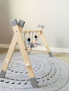 Babygym Twin handgemacht, # Baby Gym # handgemacht Best Picture For christmas aesthetic For Your Taste You are looking for something, and it is going to tell you exactly … Baby Bedroom, Baby Room Decor, Nursery Room, Boy Room, Nursery Decor, Kids Room, Diy Baby Gym, Wood Baby Gym, Diy Bebe