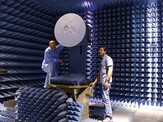 Antenna Anechoic Chamber by NASA Goddard Space Flight Center, via Flickr