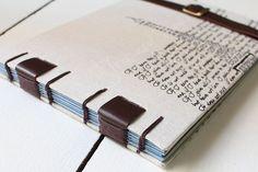 Livro para Memórias de Viagem - França #memories #journal #bookbinding