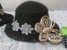 Agulheiro chapéu feito de feltro