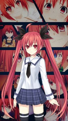 image by Discover all images by Find more awesome freetoedit Manga Anime Girl, Kawaii Anime Girl, Anime Chibi, Date A Live Kotori, Romantic Comedy Anime, Date A Life, Anime Date, Anime Wallpaper Phone, Naruto Wallpaper