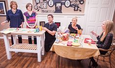 .@HomeandFamilyTV -  #DIY #Thanksgiving Kid's Table | #CountdowntoChristmas