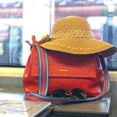 5a27ef19d Bolsa Eternity em couro vermelho #cavage #handbag #verao2019 #bag #bolsa #