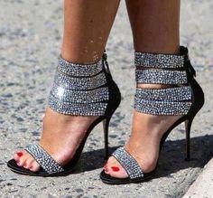 Bling bling heels