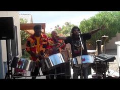 Trinidad Calypso Band performing In Dis' World. - YouTube // my fathers band :) Kenny London, he's the big guy on the left at the steel drums, and he wrote this song #drummer #drumsarelife #music #musicislife @audranc @free43