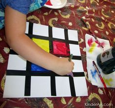 KinderArt® Blog - Art Lessons and Lesson Plans for Kids (Toddler, Preschool, Elementary and Beyond): ece/preschool