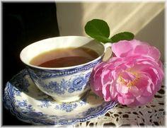 Pretty cup of tea