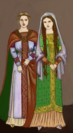 Carolingian by Tadarida:  Frankish fashion during the Carolovingian era