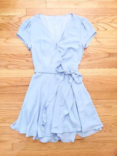 Blue Summer Swing Party Dress