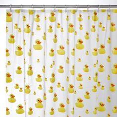 Interdesign® Ducks 72-Inch x 72-Inch EVA Shower Curtain - BedBathandBeyond.com