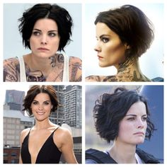 Husband wants me to cut my hair like Blind Spot girl. Saving just in case I get brave enough...