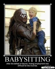 After the defeat of Sauron, finding employment was difficult for the Uruk-hai