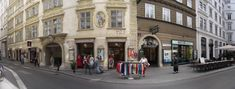 The area dates back to an early medieval market place and today has the best preserved Renaissance town houses in the centre of Vienna. Medieval Market, Vienna, Austria, Townhouse, Dates, Renaissance, Centre, Street View, Houses