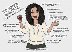 funny, black women, advert