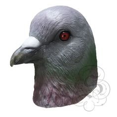 Deluxe Latex Realistic Animal Pigeon Bird Mask for Cosplay Halloween Party Props Carnival Masquerade Fancy Dress, Halloween Fancy Dress, Halloween Party, Latex Halloween Masks, Pigeon Bird, Bird Masks, Head Mask, Fancy Dress Up, Mask Party