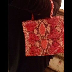 Charles Jourdan snake skin bag. Sale This is a brand new bag it can be worn cross body, this is a beautiful bag snake skin like. Please use offer feature, no trades or PP. Reduced!  Charles Jourdan Bags