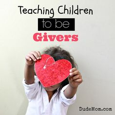 teaching children to be givers