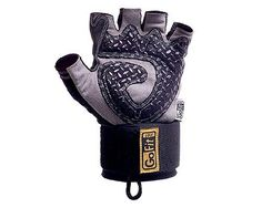 GoFit Diamond-Tac Weightlifting Wrist Wrap Glove and Training CD - List price: $24.99 Price: $19.99