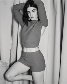 Female Celebrity Crush, Lucy Hale, Celebs, Celebrities, Pretty Little Liars, American Actress, Nice Tops, Two Piece Skirt Set, Beautiful Women