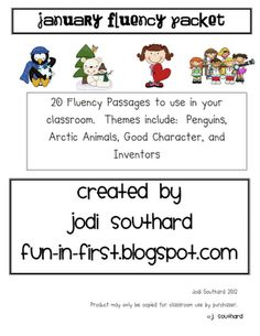 January Fluency Passages