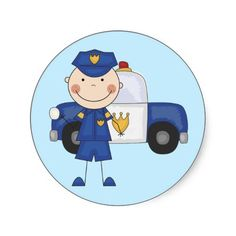 1000+ images about Police Stickers For Kids on Pinterest ...  Police