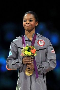 Congrats to Gabrielle Douglas on winning the gold medal in the Artistic Gymnastics Women's Individual All-Around final on Day 6 of the London 2012 Olympic Games.